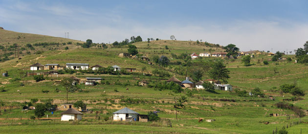 Paulpietersburg, in KwaZulu-Natal, South Africa